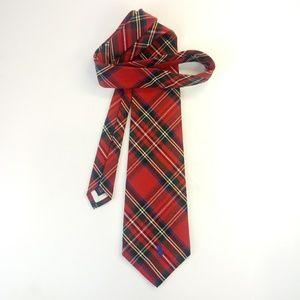 Ralph Lauren Polo Men's Tartan Plaid Necktie